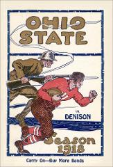 Thumbnail of OSU Football Program: October 12, 1918