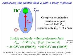 Thumbnail of TESTS OF PARITY AND TIME-REVERSAL VIOLATION USING DIATOMIC MOLECULES