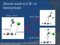Thumbnail of OBSERVATION OF C$-$H${\cdots}$$\pi$ INTERACTIONS: MICROWAVE SPECTRA AND STRUCTURES OF THE CH$_{2}$FX${\cdots}$HCCH (X=F,Cl) WEAKLY BOUND COMPLEXES