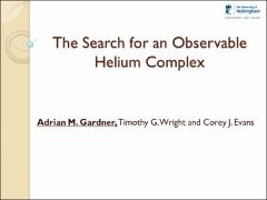 Thumbnail of THE SEARCH FOR AN OBSERVABLE HELIUM COMPLEX