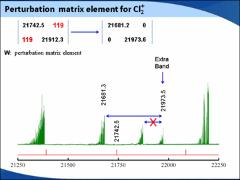 Thumbnail of A NEW ANALYSIS OF A VERY OLD SPECTRUM: THE HIGHLY PERTURBED $A^2$$\Pi_i$ - $X^2$$\Pi_i$ BAND SYSTEM OF THE CHLORINE CATION (Cl$_2^+$)