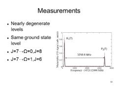 Thumbnail of HIGH PRECISION UV MEASUREMENTS IN CO, TOWARDS A LABORATORY TEST OF THE TIME-INVARIANCE OF $\mu$.