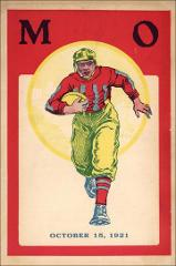 Thumbnail of OSU Football Program: October 15, 1921