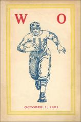 Thumbnail of OSU Football Program: October 1, 1921