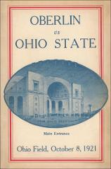 Thumbnail of OSU Football Program: October 8, 1921