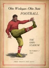 Thumbnail of OSU Football Program: October 7, 1922
