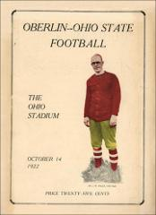 Thumbnail of OSU Football Program: October 14, 1922