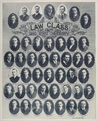 Thumbnail of Law Class 1917 Ohio State University