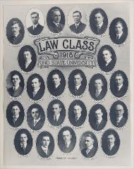 Thumbnail of Law Class 1918 Ohio State University