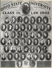Thumbnail of Ohio State University Class in Law 1902