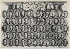 Thumbnail of Law Class Ohio State University 1922