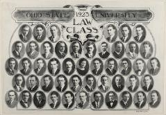 Thumbnail of Ohio State University 1923 Law Class