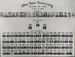 Thumbnail of Ohio State University College of Law Class of 1960