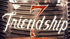 Thumbnail of Friendship 7 logo painted on the side of the spacecraft