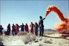 Thumbnail of Instructions on using a flare during astronaut desert training