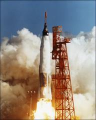 Thumbnail of Launch of Project Mercury MA-6 at ignition