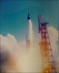 Thumbnail of Launch of Project Mercury MA-6 at lift-off