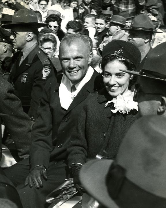 John And Annie Glenn