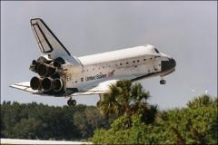 Thumbnail of Landing of the Space Shuttle Discovery
