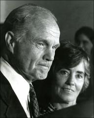 Thumbnail of John and Annie Glenn at the Democratic National Convention in New York, 1976