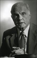 Thumbnail of John Glenn at a hearing concerning the Korean War Memorial