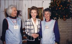 Thumbnail of Annie Glenn with Nancy Reagan and Barbara Bush