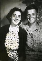 Thumbnail of Annie Castor and John Glenn as teenagers, circa 1938