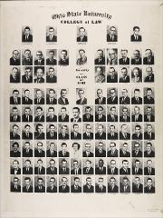 Thumbnail of Ohio State University College of Law Faculty, Class of 1962