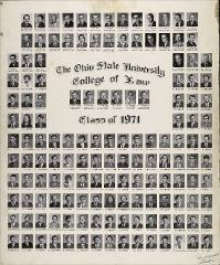 Thumbnail of Ohio State University College of Law Class of 1971