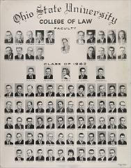 Thumbnail of Ohio State University College of Law Faculty, Class of 1963
