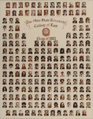 Thumbnail of Ohio State University College of Law Class of 1982