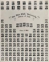 Thumbnail of Ohio State University College of Law Class of 1965