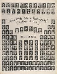 Thumbnail of Ohio State University College of Law Class of 1967