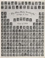 Thumbnail of Ohio State University College of Law Class of 1968