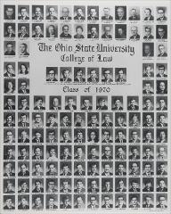 Thumbnail of Ohio State University College of Law Class of 1970