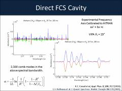 Thumbnail of DIRECT FREQUENCY COMB SPECTROSCOPY FOR THE STUDY OF MOLECULAR DYNAMICS IN THE INFRARED FINGERPRINT REGION.