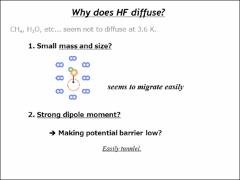 Thumbnail of DIFFUSION OF HYDROGEN FLUORIDE IN SOLID PARAHYDROGEN.