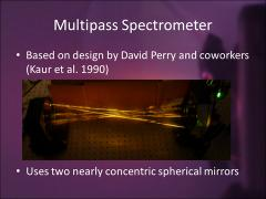 Thumbnail of DEVELOPMENT OF A SUBMILLIMETER MULTIPASS SPECTROMETER FOR THE STUDY OF MOLECULAR IONS