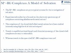 Thumbnail of THEORETICAL INVESTIGATION OF THE M$^{+}$-RG$_{2}$ (M = ALKALINE EARTH METAL; RG = RARE GAS) COMPLEXES