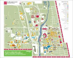 Columbus Campus Map, 2012