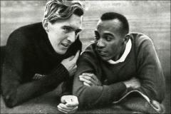 Thumbnail of Jesse Owens and Luz Long at the Berlin Olympics, 1936