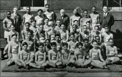 Thumbnail of Fairmount's championship indoor track team, 1928