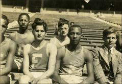 Thumbnail of Fairmount track team members, circa 1928