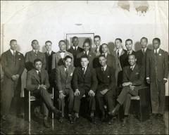 Thumbnail of The Ohio State University Chapter of Alpha Phi Alpha, 1930s