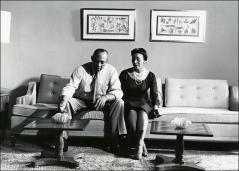 Thumbnail of Jesse and Ruth Owens at their home, circa 1960s
