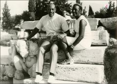 Thumbnail of Jesse and Ruth Owens during their trip to Greece, 1969