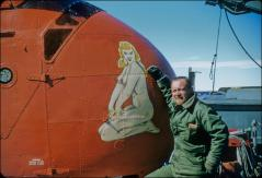 Thumbnail of William J. Cromie by icebreaker helicopter