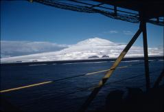Thumbnail of Mt. Erebus viewed from the sea