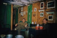 Thumbnail of Living quarters. Sam Wilson (left) and Bruce Lieske