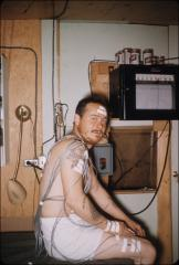 Thumbnail of Testing for adaptation to cold (cold chamber test), William J. Cromie